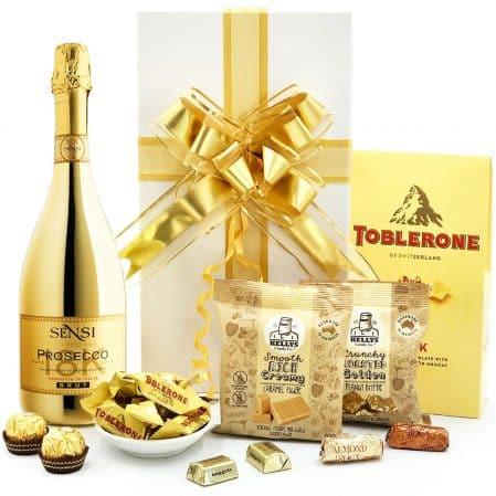 Gold Prosecco Gift Hamper