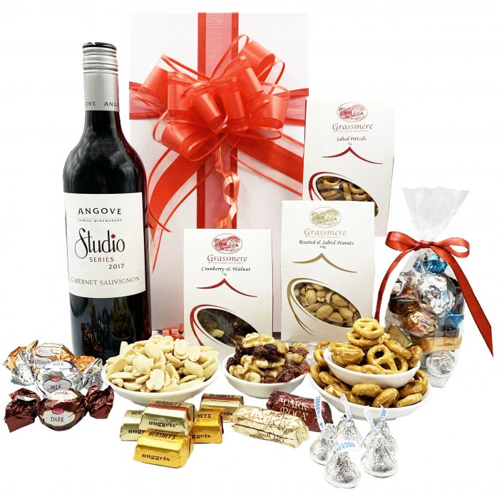 Wine Hamper with Nibbles